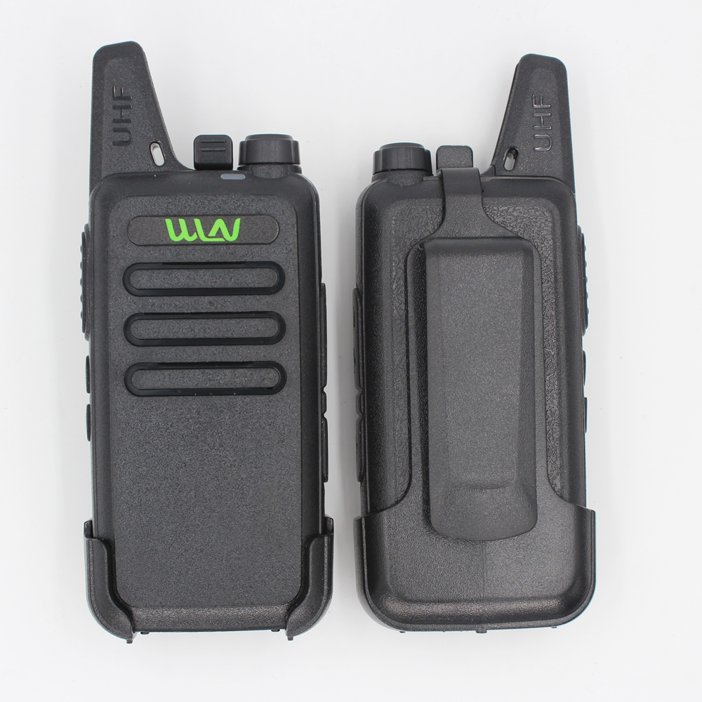 2PCs WLN KD-C1 Mini Ham Two Way Radio Walkie Talkie 5W long range better than BF-888S UHF FM Transceiver