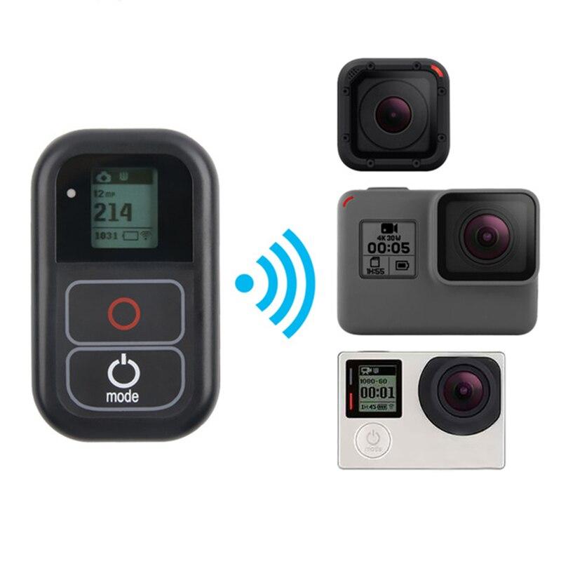 Control remoto WIFI a prueba de agua para Gopro Hero7 Hero6 Hero5 Hero4 Hero3 + para Go Pro Hero 7 6 5 4 sesión accesorios de cámara deportiva
