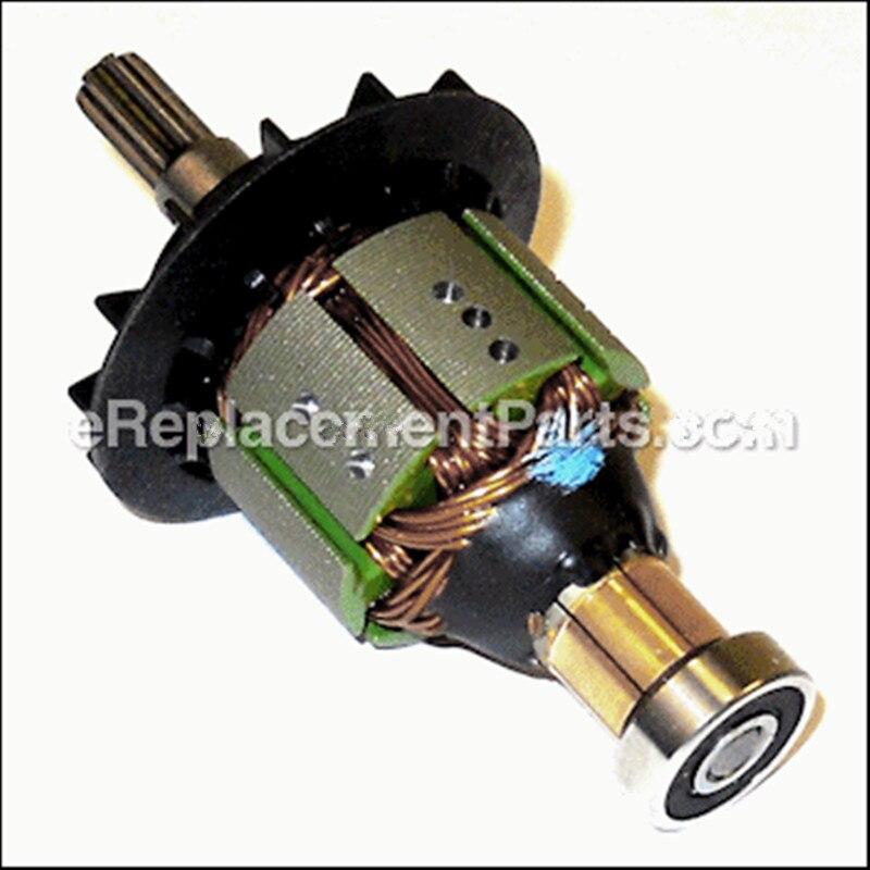 Genuine ARMATURE AND PINION SET Motor for Hitachi 360712 WR14DMR WR14DL WH14DMR WH14DL