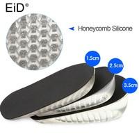 ИД стелька для увеличения роста Регулируемый 1,5/2,5/3,5 см Air подушки невидимые подставки подошвы стельки вкладыши для обувь для мужчин и женщи...