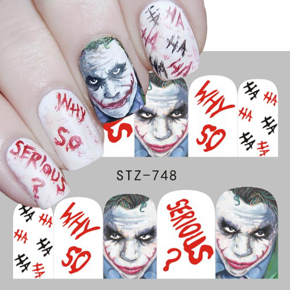 Circus clowns version 1 water transfer decals