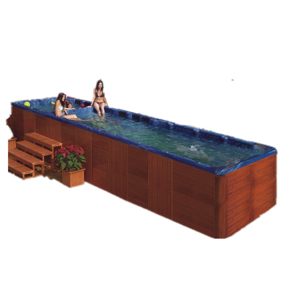 US $11666.0 |Outdoor more than 10 people large luxury Adult free standing  spa swimming pool on AliExpress