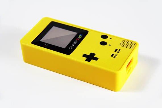 Custom Gameboy series 5200mAh Power Bank Portable External