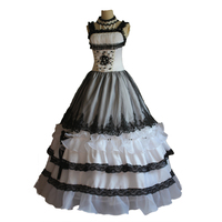 New Arrival Victorian Evening Dresses Long Royal Court Palace Cosplay Costume For Ladies Party