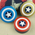 Hombres Capitán América Espejo de Lentes de Contacto Caso Lot Lente Ojo caso de Lentes de Contacto Caja Estuche de Viaje Plastic Contact Lens Titular regalo