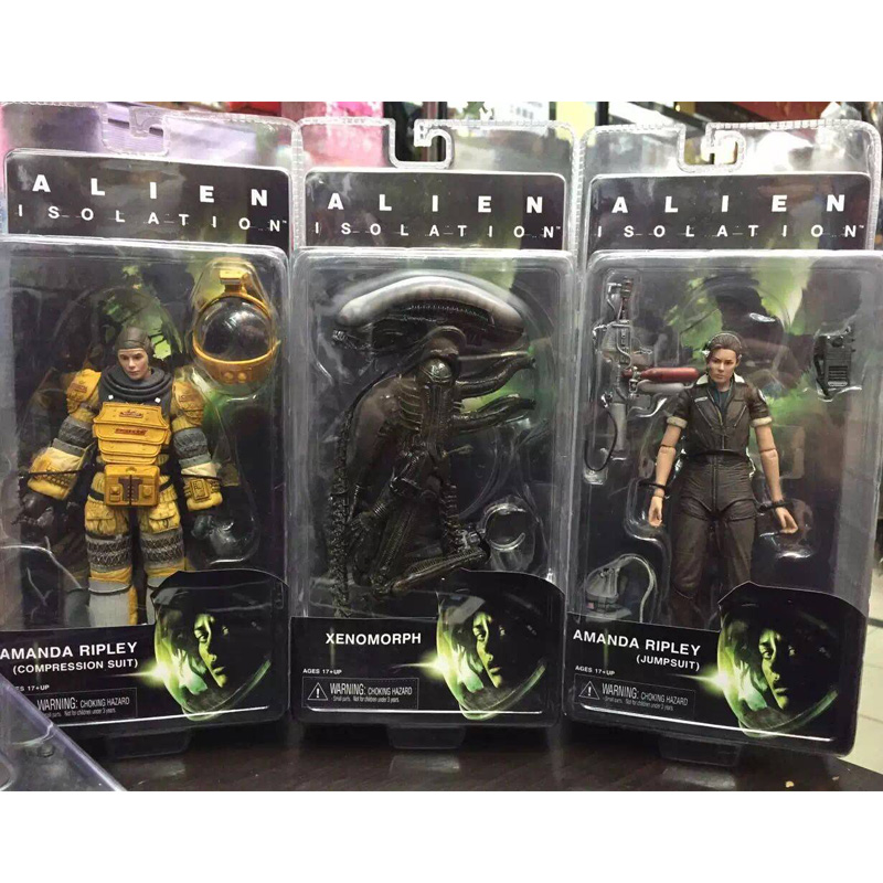 Alien Isolation Xenomorph Amada Ripley PVC Action Figure Collectible Model Toy 18cm KT1780 neca alien lambert compression suit aliens defiance xenomorph warrior alien pvc action figure collectible model toy 18cm