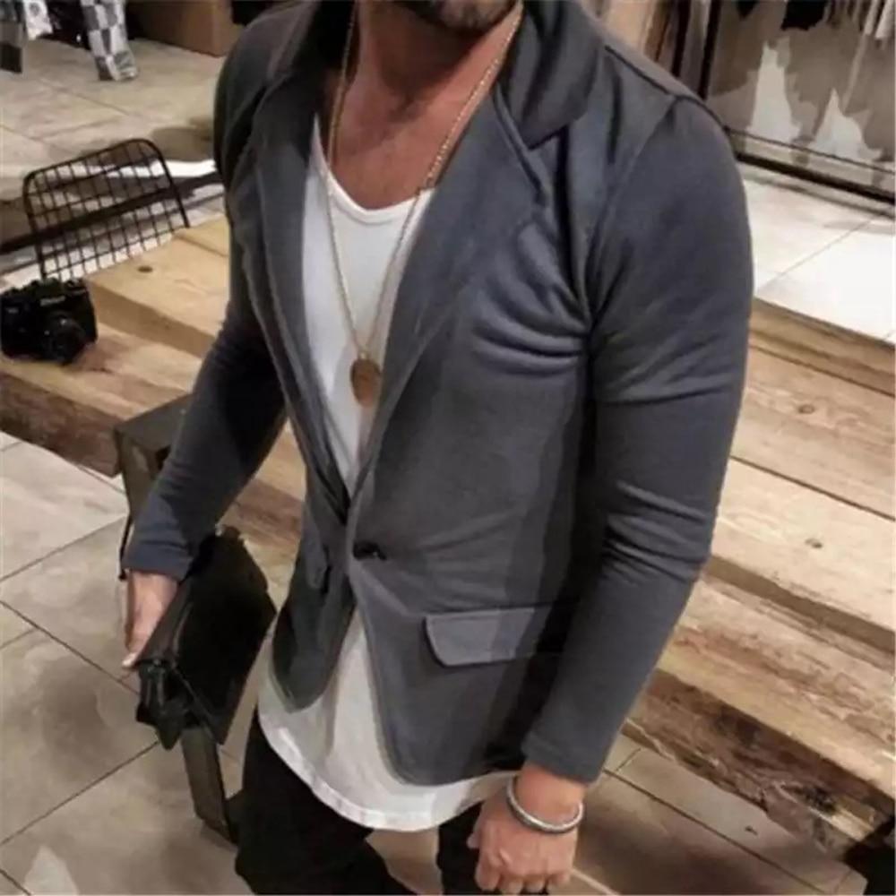 blazer homme Fashion Mens Blazer Jacket British's Style casual Slim Fit suit jacket male Blazers men coat veste costume homme