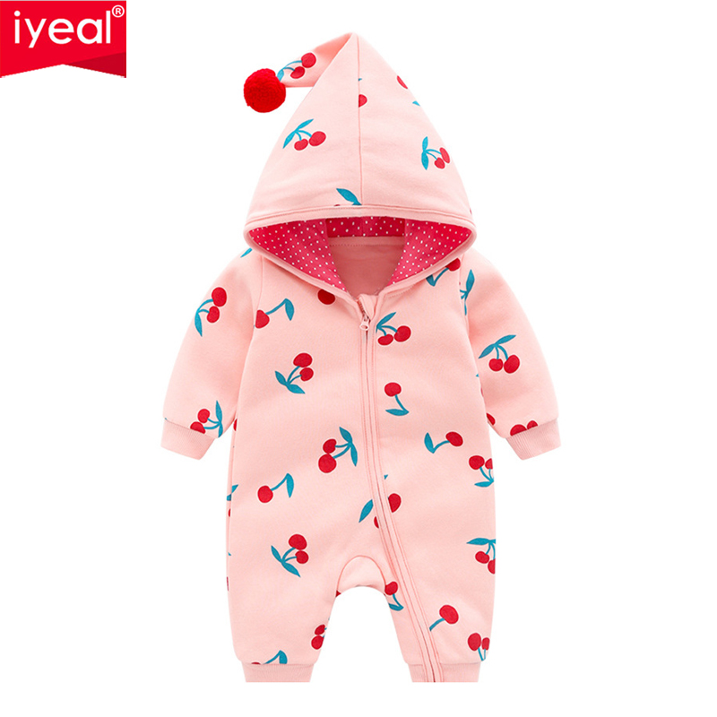 IYEAL Newest Baby Clothing Newborns Body Suit High Quality Soft Cotton Jumpsuit Baby Romper Hooded Warm Cotton Infant Overalls 4pcs set abs chrome car body side guard strip garnish trim decal cover molding fit for toyota camry 2018 car styling accessories