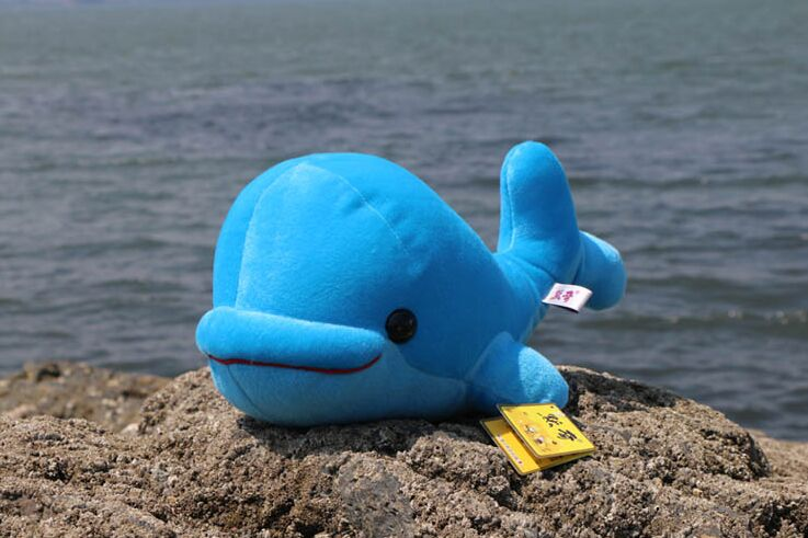 Мягкая игрушка Большой 38 см синий кит Плюшевые игрушки Мягкая Подушка, подарок на день рождения b0549