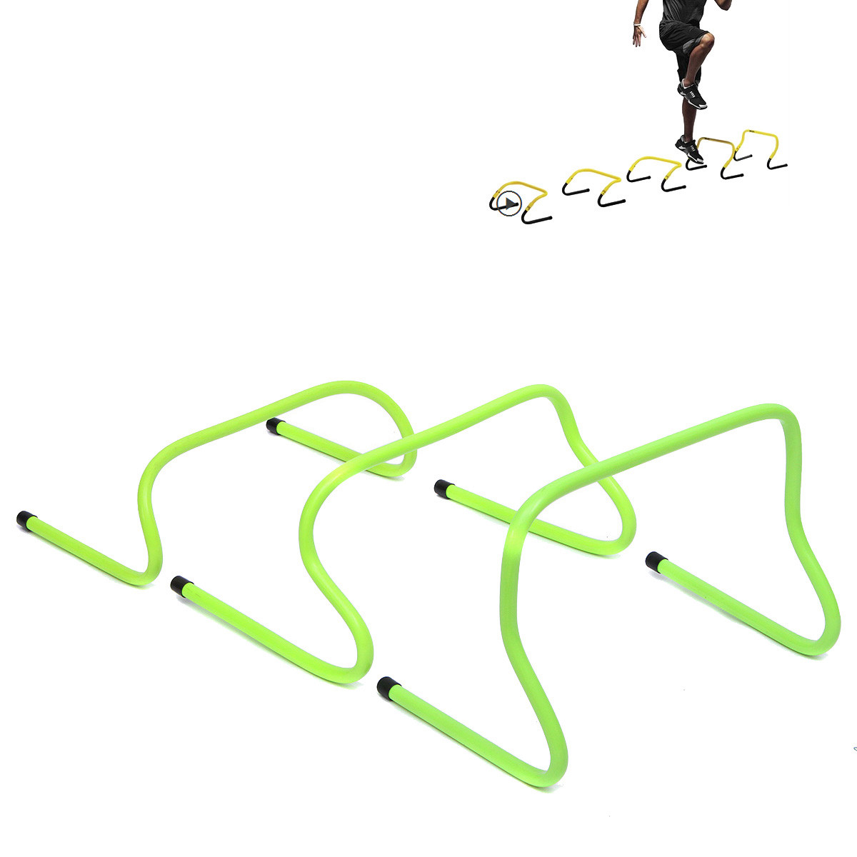 1pcs Soccer Agility Ladder Soccer Hurdle Football Traning Barrier Frame For Soccer Speed Training Equipment