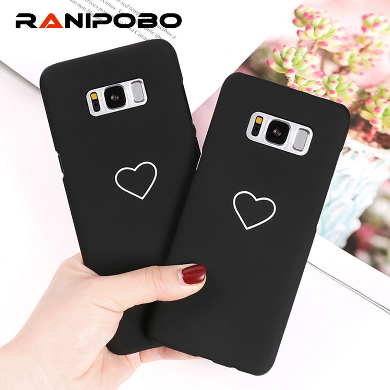 Lovely Cartoon Couples Love Heart Case For Samsung Galaxy