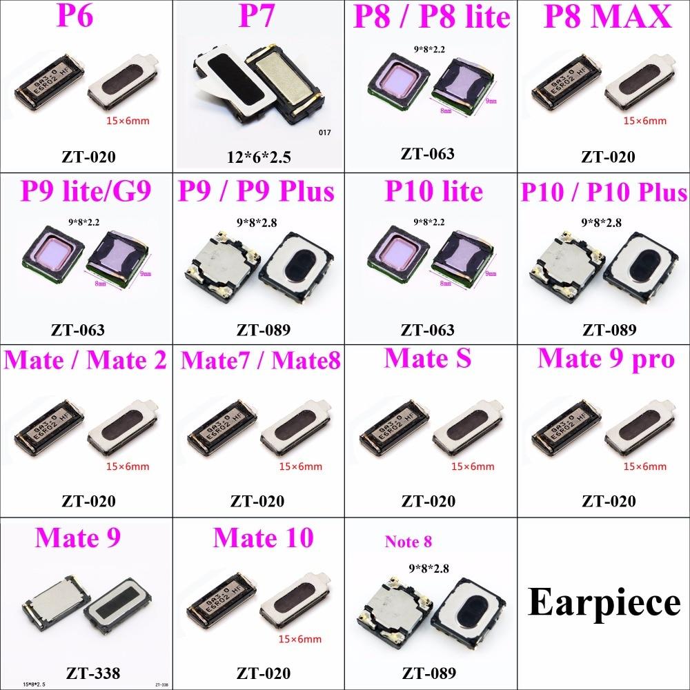 2pcs Earpiece Speaker For Huawei Ascend P6 P4 P8 LITE MAX P9 PLUS P10 MATE 2 Mate 7 8 9 10 Note 8 Repair Parts Replacement