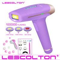 1000000 times Lescolton 4in1 depilador a laser IPL Laser Hair Removal Machine Laser Epilator Hair Removal Permanent Bikini body