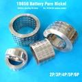 18650 батарея чистый никель полосы 2 P/3 P/4 P/5 P/6 P/8 P никелевая полоса батарея расстояние 20,2 мм Ni ремень для 18650 батарея 1 P/2 P/3 P держатель