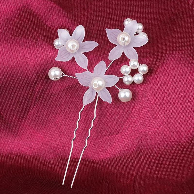 XIAOJINGLING Luxury Floral Blume Hochzeit Haar Clips Braut Hairdisk ...