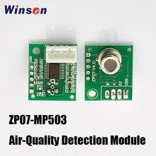 4 قطعة Winsen ZP07 MP503 وحدة الكشف عن جودة الهواء تعتمد مستشعر غاز أشباه الموصلات سطح مسطح ، وانخفاض استهلاك الطاقة