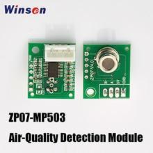 4 pcs winsen ZP07 MP503 대기 질 감지 모듈은 평평한 표면 반도체 가스 센서, 저전력 소비를 채택합니다.