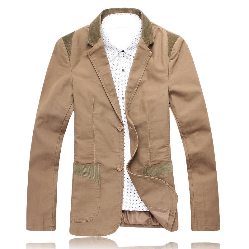 Brown Casual Jacket 4U8AMZ