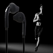Sport Headset with Mic 3.5mm In-Ear Wired Earphone Earbuds Stereo Headphones Universal for Xiaomi iPhone PC Wired Earphones