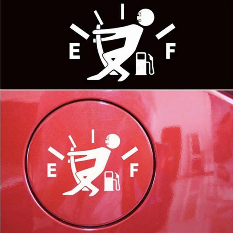 Etiqueta engomada personalizada del coche del medidor de aceite de la gente pequeña para jeep renegade chevrolet captiva citroen xsara picasso toyota yeris