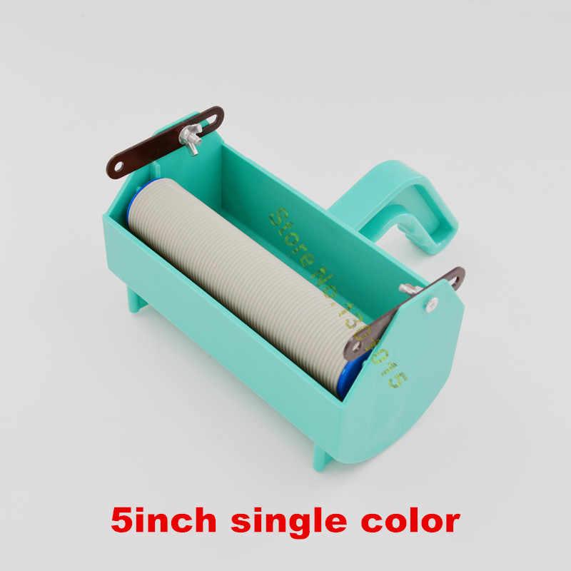 Fix für 5 zoll gummi muster rollen, wand dekoration malerei werkzeuge, flüssige tapete malen handgriff mit einfarbige tank