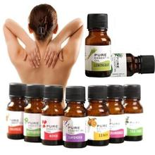 10ml 100% Natural Aromatherapy Massage Pure Essential Oil Rosemary Geranium Eucalyptus Ylang Relax