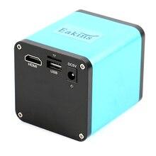 SONY IMX290 FHD 1080 P Автофокус HDMI видео микроскоп камера TF регистраторы C креплением для телефона пайки процессор печатная плата