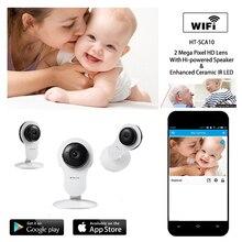 Wifi IP Camera Network Cube Baby Monitor with Motion Sensor and Duplex Intercom