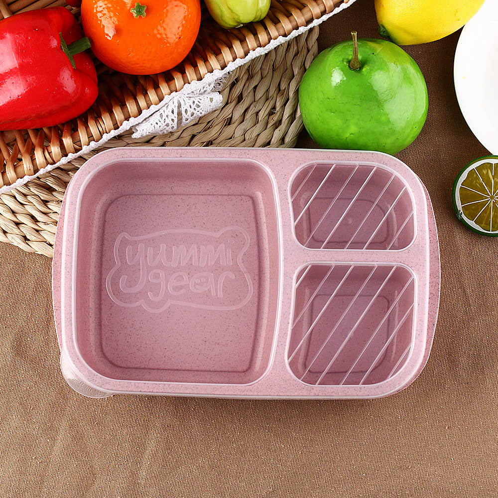 GUHEHARD 1PC Meal Food Lunch Container Travel Portable Box