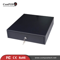 The low price metal cash drawer 330mm POS cash register for hotel