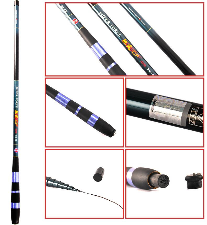 Stream/river/lake/pond fishing rod 1 pcs/Lot ultra light carbon rod 3.6/4.5/5.4/6.3/7.2 m short pole carp fishing rods hot selling 1 pcs lot ultra light long hard carbon rod 8 9 10 11 12 m river stream pond lake fishing rod hand rod