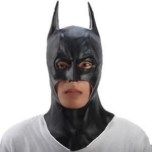 Image 2 - Batman Mask Halloween masquerade party Masks Movie Bruce Wayne Cosplay mascara mascaras de latex realista carnaval masque terror