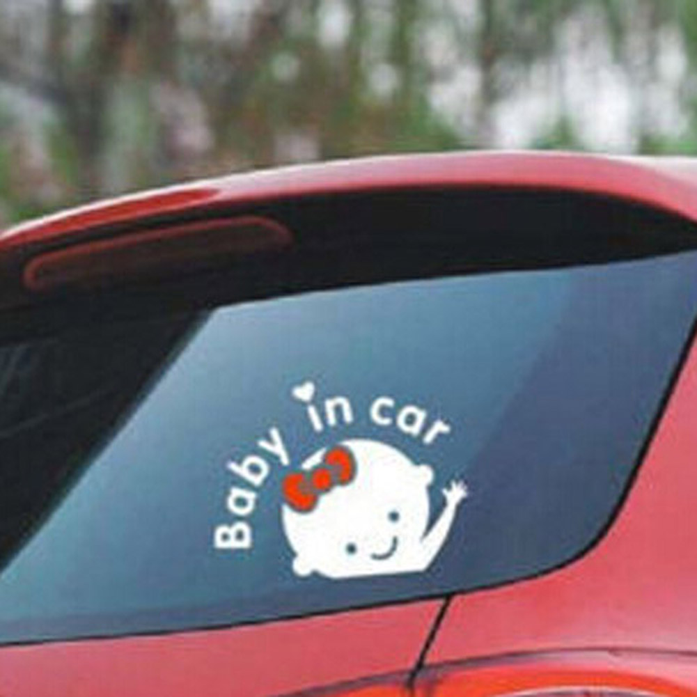 Car Stickers Reflective Vinyl Car Decoration Hot Sale Baby in Car Accessories Necessaries