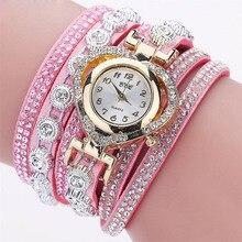Crystal Love Heart Bracelet Women Watch
