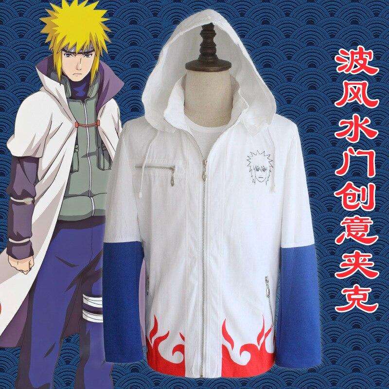 Naruto Namikaze Minato Jacket 4th Hokage Hoodie ...  Naruto Namikaze...