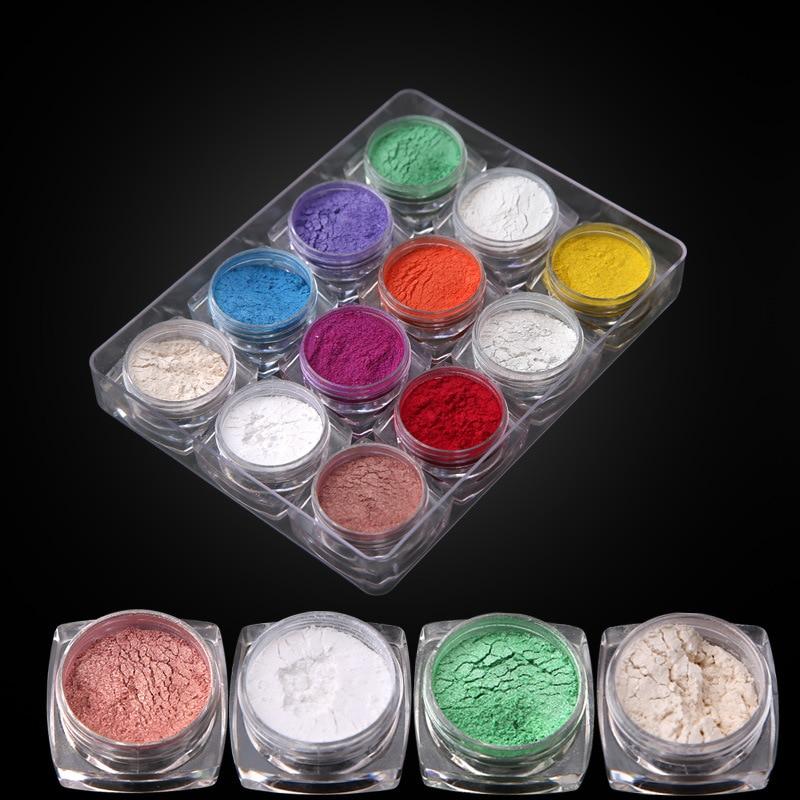THH001 Haute qualité Nail Glitter Brillant Mode Nail Glitter Poudre arcylic poudre