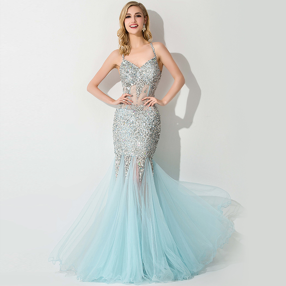 Online Get Cheap Light Blue Evening Dresses -Aliexpress.com ...