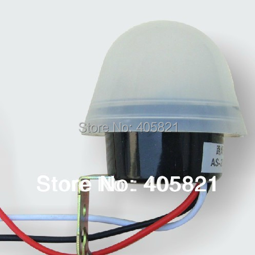 Waterprooof auto Street lamp switch/ Photoelectric automatic switches AS20 AC220V 10A e3x da21 s photoelectric switch