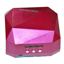 36W UV Lamp LED Nail Lamp Nail Dryer Diamond Shaped Curing for UV Gel Nails Polish Nail Art Tools with Auto Sensor