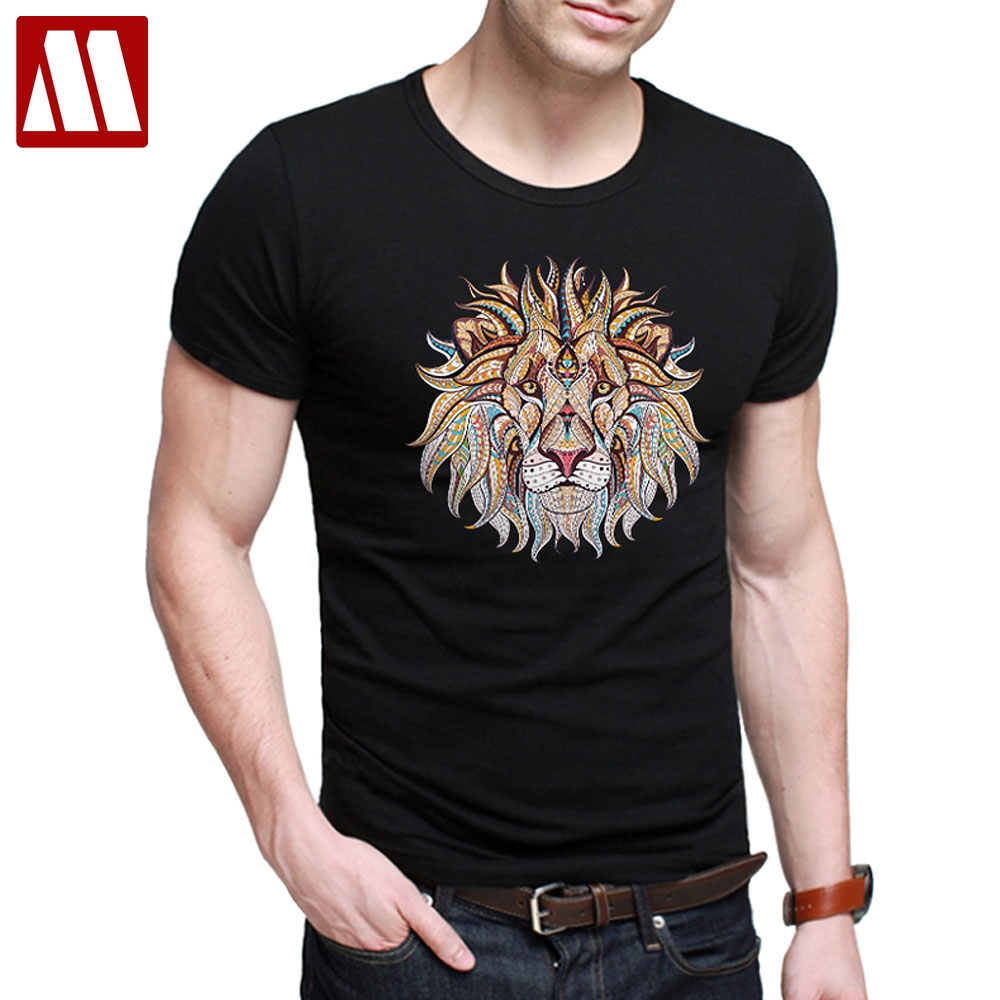 b313186a9e5 Detail Feedback Questions about Plus Size S~5XL Men s Short Sleeve T Shirts  Fashion Funny Lion Printed tshirts summer jersey costume t shirt Casual  Cotton ...