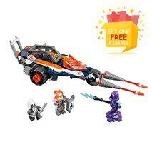 Bela Pogo Kompatibilis Legoe 70348 10592 Nexo Lovagok Makloksi Lance Twin Jouster Modell Építőelemek Tégla játékok gyerekeknek