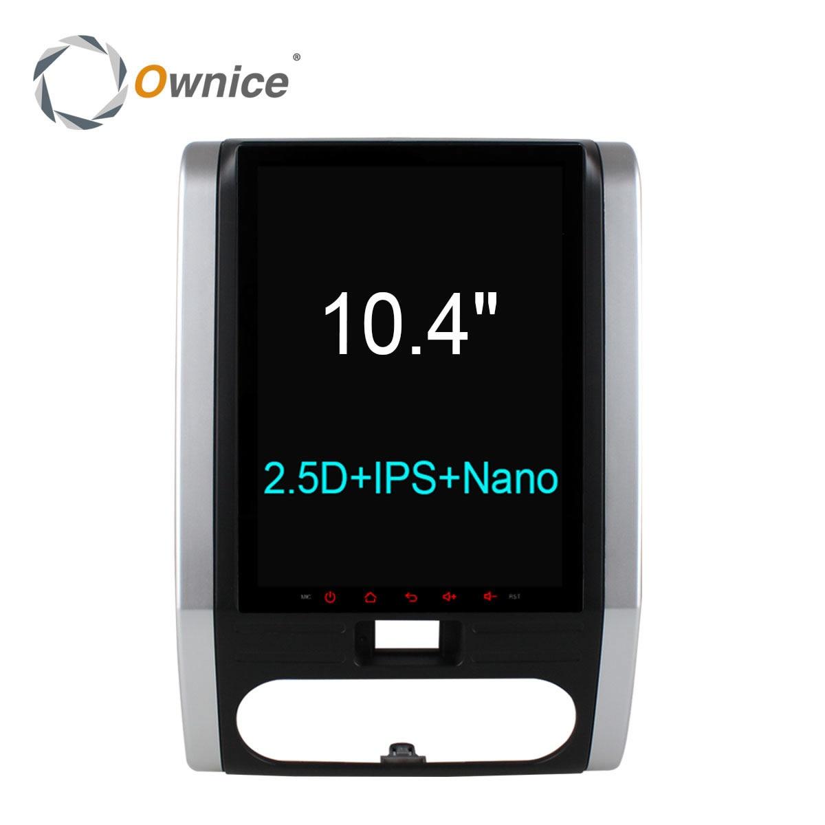 Ownice C600 10.4 9.7 вертикальная Экран Android 6.0 Octa core автомобильный DVD Радио для Nissan X-Trail 2008 2009 2010 2011 с 2.5D IPS