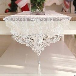 Quente corredor de mesa europeu luxo rendas toalha de mesa decoração do casamento elegante pingente piano capa romântico bordado capas de mesa