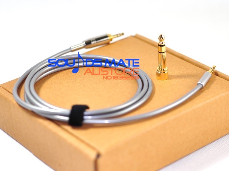 Upgrade Hifi Audio Cable For SONY MDR 1A 1R 10R 10RC Headphone Line Wire 5N OCC 99.9997%