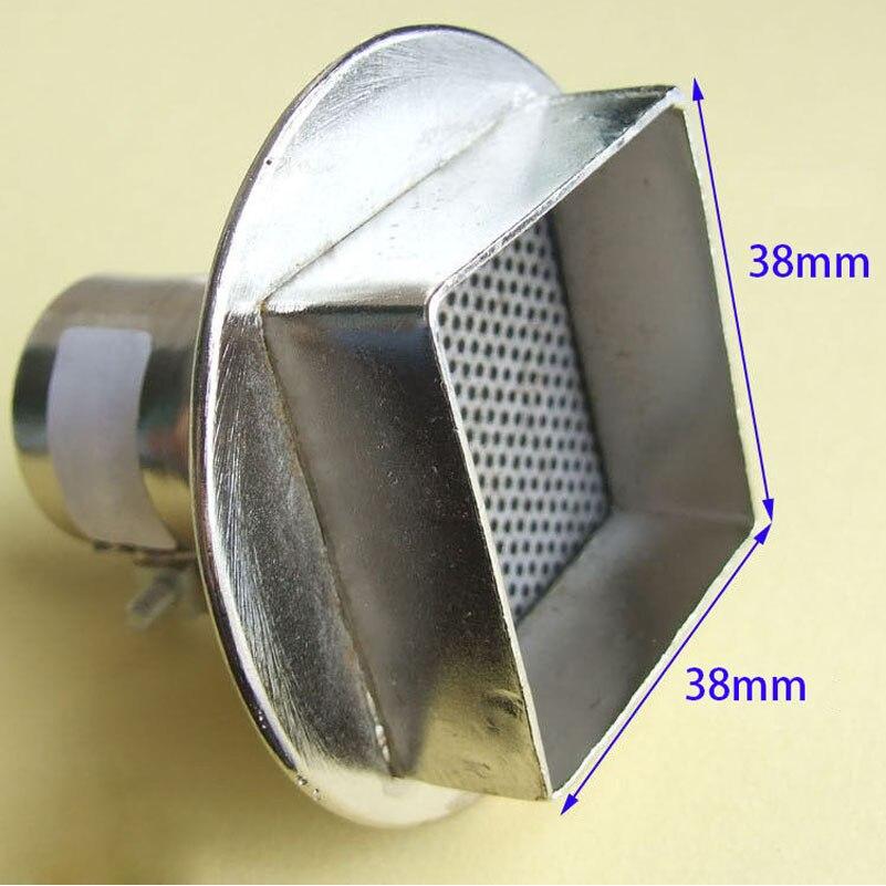 1PCS 38x38mm Air nozzle for Soldering station 852D 850 Hot Air Gun BGA Nozzle