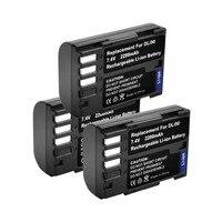 3pcs 7.4V 2200mAh akku D LI90 DLI90 D LI90 Digital Camera Battery For PENTAX K 7 K 7D K 5 K 5 II 645D K01 K 3 K 3 II 645Z L10