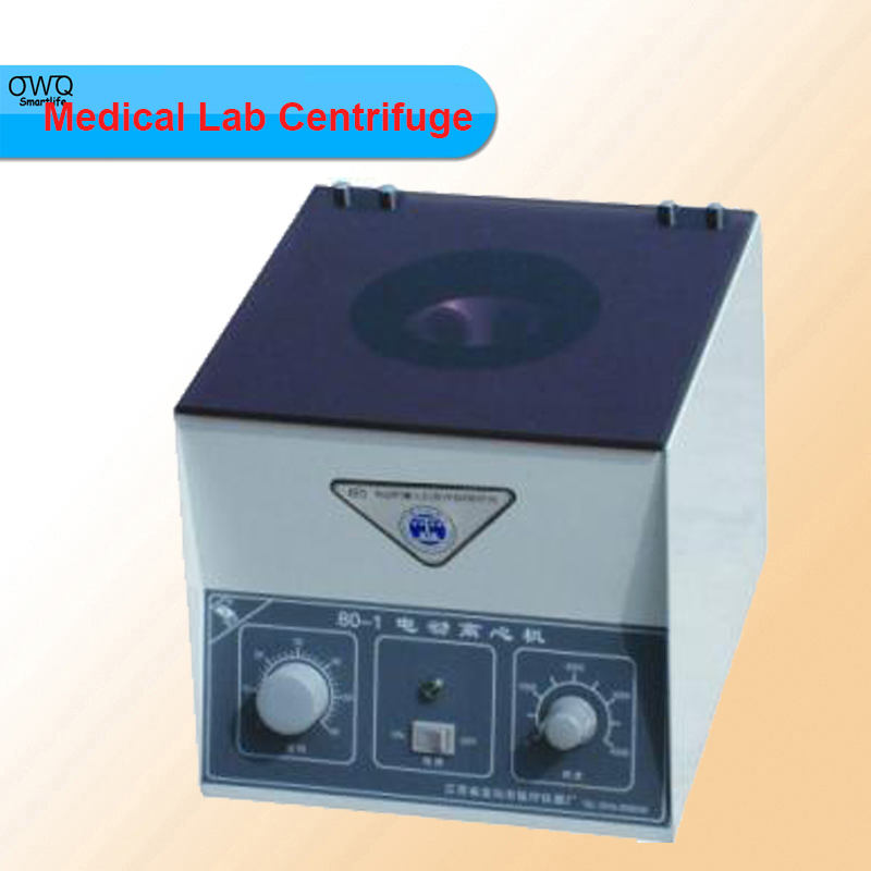 ФОТО Newest Desktop Electric Medical Lab Centrifuge Laboratory Lab Supplies Medical Practice 4000 rpm 20 ml x 6 Model 80-1