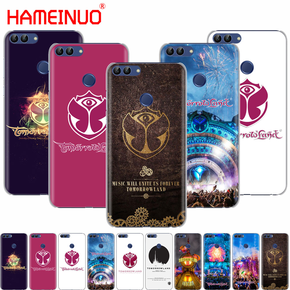HAMEINUO Belgium Tomorrowland Music Festival cell phone Cover Case for huawei Honor 7C Y5 Y625 Y635 Y6 Y7 Y9 2017 2018 Prime PRO