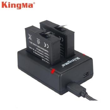 Xiaomi Mijia Mini 4K Action Camera Batteries Charger KingMa Original Dual Charging Battery Accessories - sale item Camera & Photo