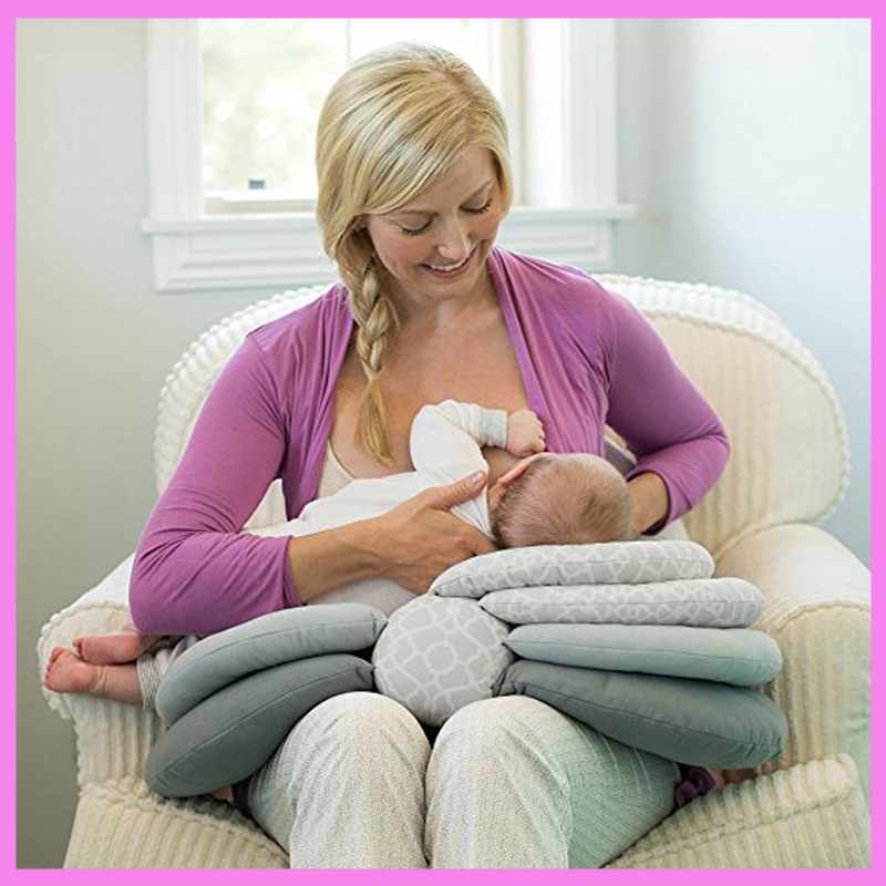 Multifunctional Newborn Infant Travel Elevate Adjustable Nursing Pillow Baby Breast Feeding Pillow Sofa Booster Cushion